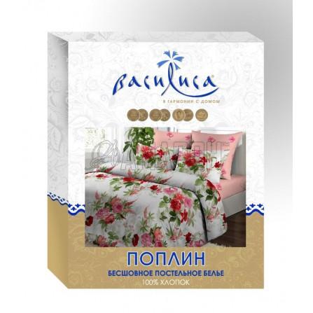 Постельное белье Василиса 1,5-сп., поплин