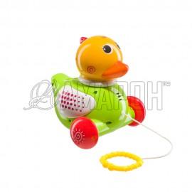 Игрушка-каталка Ducky