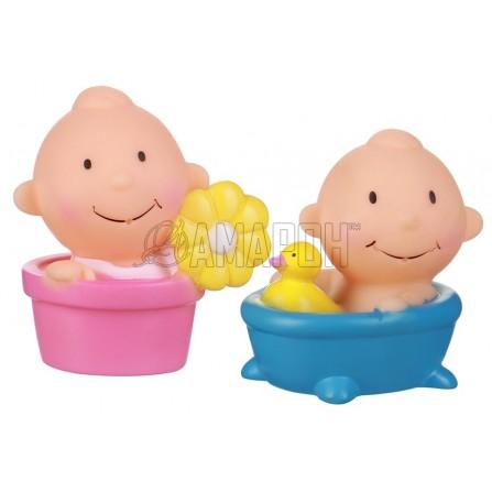 Курносики набор игрушек-брызгалок д/ванны непоседы, 6 мес. + (25129)