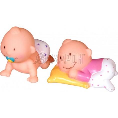 Курносики набор игрушек-брызгалок д/ванны баю-бай, 6 мес. + (25130)