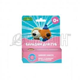 Ми-ми-мишки бальзам для губ зимняя забота бабл-гам детский 4,2 г