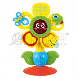 Музыкальная игрушка на присоске Fun flower