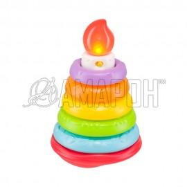 Музыкальная пирамидка Happy cake