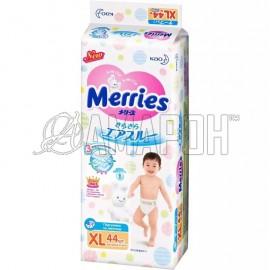 Подгузники Merries XL (12-20 кг), №44