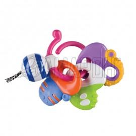 Погремушка-прорезыватель Веселые ключи Keys of fun
