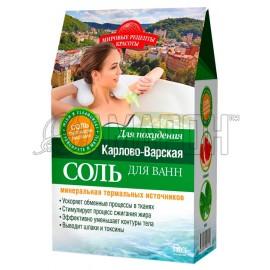 Соль для ванн Карлово-Варская для похудения, 500 г