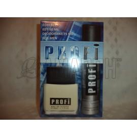 Набор мужской PROFI (туал. вода 50 мл и дезодорант 75 мл)