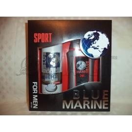 Набор мужской Blue Marine SPORT-678 (гель для душа 250 мл и пена для бритья 200 мл)