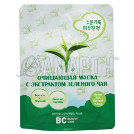BC beauty care маска для лица очищающая с зеленым чаем, 26 мл