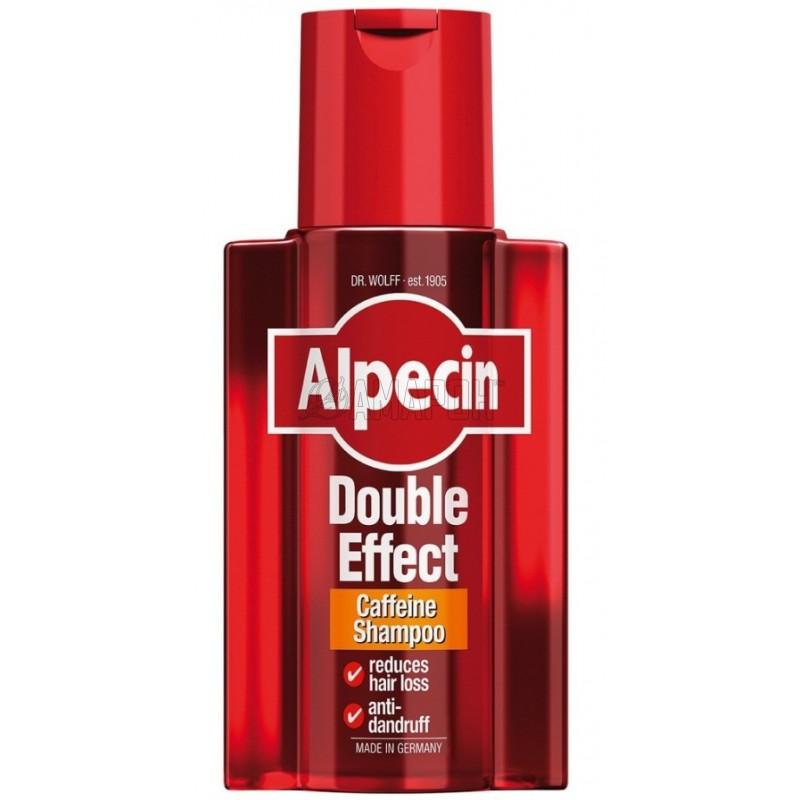 Альпецин шампунь с кофеином против выпадения волос и перхоти, 200 мл