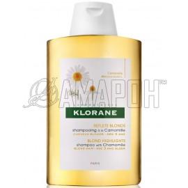 Клоран шампунь оттеночный для светлых волос с экстрактом ромашки 200 мл