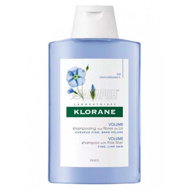 Клоран шампунь для тонких волос с экстрактом льняного волокна 200 мл
