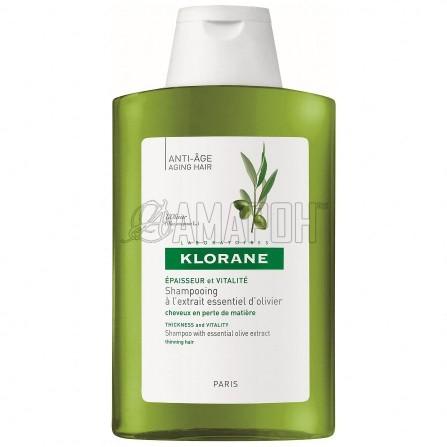 Клоран шампунь для тонких волос с экстрактом оливы 200 мл