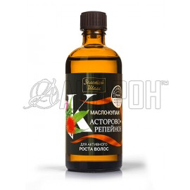 Золотой Шелк масло-купаж касторово-репейное для активного роста волос, 100 мл