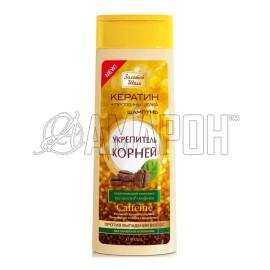 Золотой Шелк шампунь укрепитель корней против выпадения волос, 400 мл