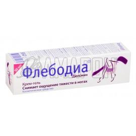Флебодиа крем-гель для ног 50 мл