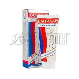 Капилар крем-бальзам для тела охлаждающий 75 мл