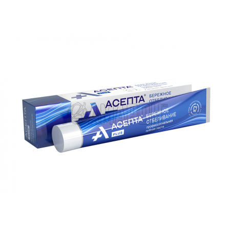 Асепта Плюс бережное отбеливание зубная паста 75 мл