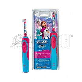Орал Би электрическая зубная щетка детская Stages Power Frozen D12.513K