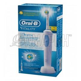 Орал Би электрическая зубная щетка Vitality 3D White D12.513W
