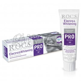 РОКС PRO Electro & Whitening зубная паста для электрических зубных щеток 135 г