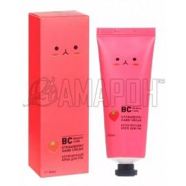BC beauty care крем для рук клубника 60 мл