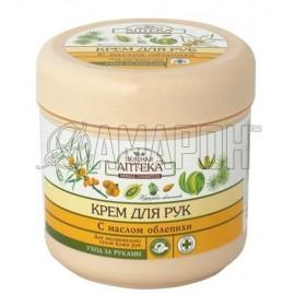Зеленая аптека крем для экстремально сухой кожи рук с маслом облепихи, 300 мл