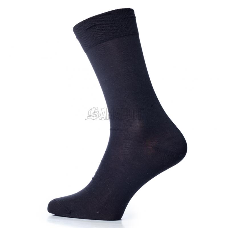Носки мужские из мерсеризованного хлопка 528с2