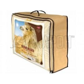 Одеяло с наполнителем из верблюжьей шерсти зимнее 1,5-спальное (140х205 см)