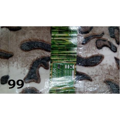 Плед бамбуковый Bamboo евро 200х215 см (3 расцветки)