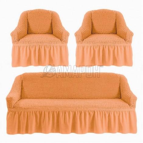 Выберите расцветку чехлов: Коралловый (оранжевый) 227