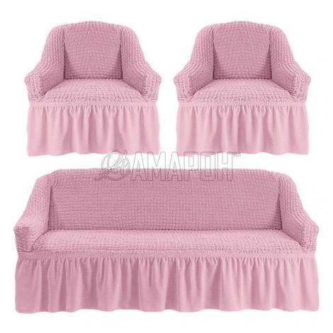 Выберите расцветку чехлов: Розовый 207