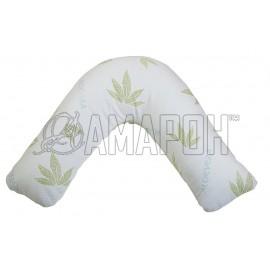 Подушка Бумеранг Латекс с ортопедическим эффектом 68х68х25 см
