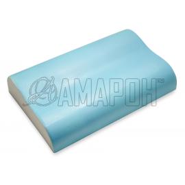 Подушка ортопедическая ВипСон Эрго-4 SprayGel memory foam с эффектом памяти 60х40х13/10 см