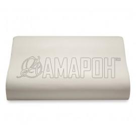 Подушка ортопедическая ВипСон Эрго-4 memory foam с эффектом памяти 60х40х13/10 см