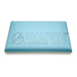 Подушка ортопедическая ВипСон Классика-М SprayGel memory foam с эффектом памяти 50х30х10 см
