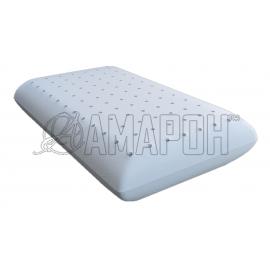Подушка ортопедическая ВипСон Классика-С/П с перфорацией memory foam с эффектом памяти 60х40х12 см