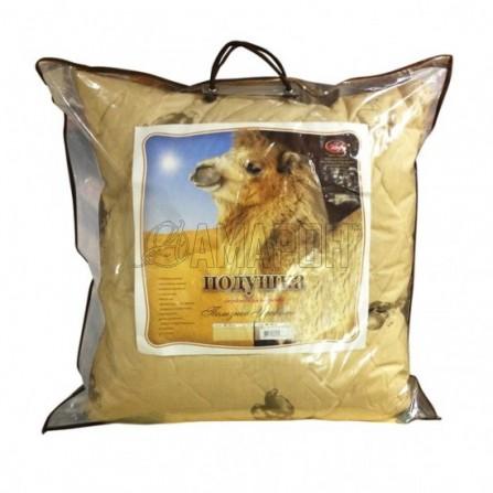 Подушка с верблюжьей шерстью 70х70 см