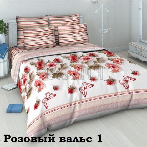 Выберите расцветку КПБ 3-D (хлопок):: Розовый вальс 4562 (1)