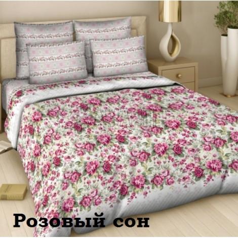 КПБ Василиса, поплин: 326 Розовый сон