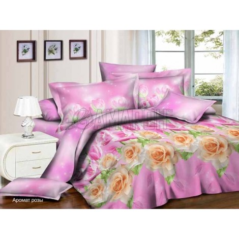 Выберите расцветку КПБ 3-D (микросатин/бамбук):: аромат розы