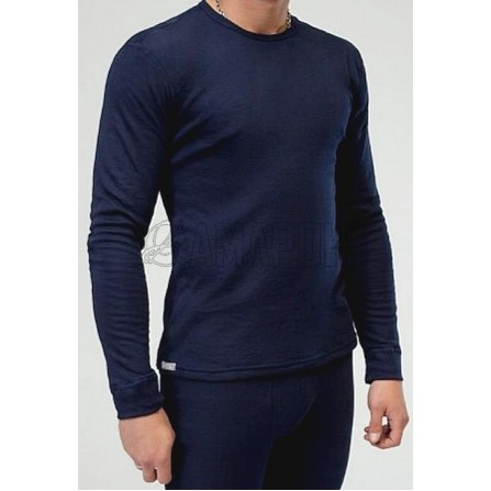 Фуфайка (термокофта) мужская U-1010, п/э, темно-синяя