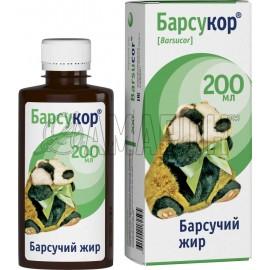 Барсукор барсучий жир, 200 мл