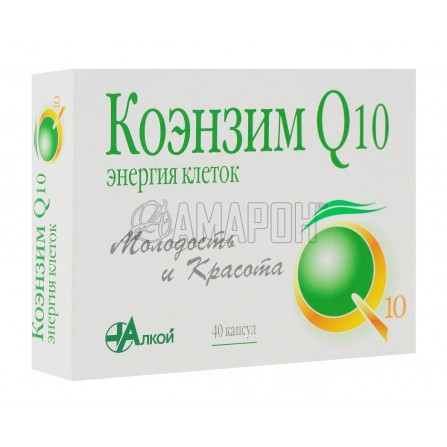 Коэнзим Q10 Энергия клеток капс., 500 мг, №40