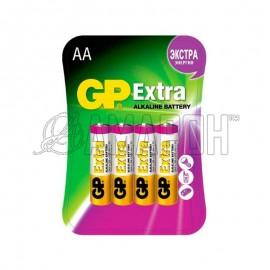 Батарейка алкалиновая GP extra LR6 (АА) 1,5В, №4
