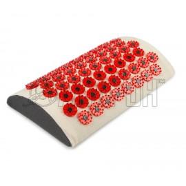 Иппликатор Кузнецова тибетский магнитный валик для поясницы (красный)