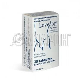 Лаверон для мужчин (повышение потенции, устранение дисфункции) 250 мг, таб., №30
