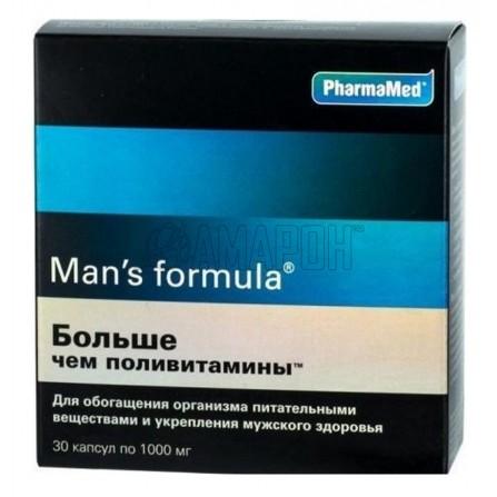 Мен-с формула больше чем поливитамины капс., 1 г, №30