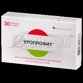 Уропрофит капс., 495 мг, №30
