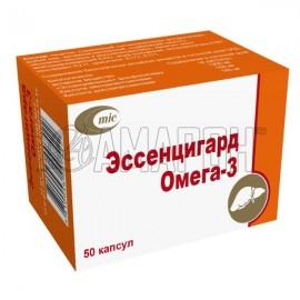 Эссенцигард Омега-3 капс., 1,4 г, №50